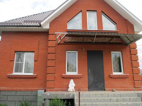Дом новый кирпичный д Шувое 140м без отделки все коммуникации в доме - Фото 1