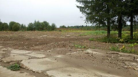Пром. участок 1,5 Га в 30 км по Киевскому шоссе на бетонке - Фото 1