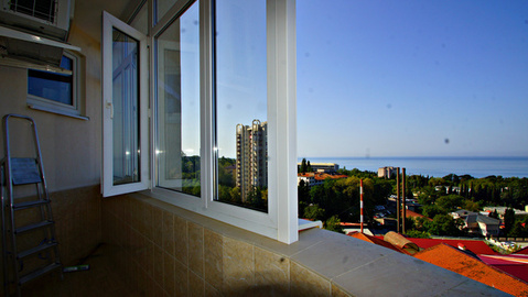 Большая квартира с видом на море в Новом Сочи - Фото 3