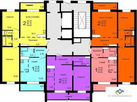 Продам 2-тную квартиру Краснопольский пр18 эт15, 44 кв.м.Цена 1675 т.р - Фото 2