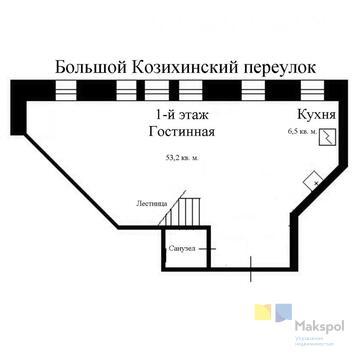 Продам 1-к квартиру, Москва г, Большой Козихинский переулок 27с1 - Фото 4