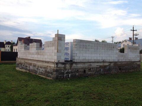 Продажа участка с новым фундаментом в Волоколамске Шаховской проезд - Фото 3