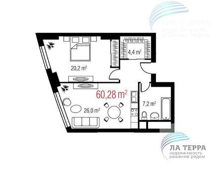 Продается однокомнатная квартира пр-т Мира, Дом 188б к3 - Фото 2
