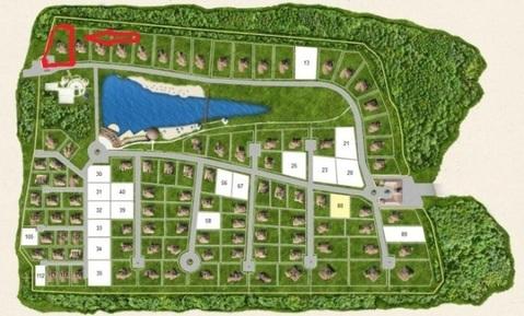 Продается участок в элитном охраняемом коттеджном поселке - Фото 1