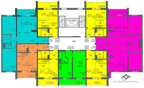Продам двухкомнатную квартиру Профессора Благих 6ст, 60кв.м, цена1860 - Фото 2