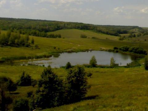 Участок с большим прудом для базы отдыха - Фото 1
