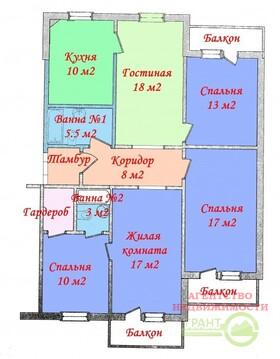 4-х комнатная квартира 110м2 с отличным ремонтом на Хар. горе - Фото 2