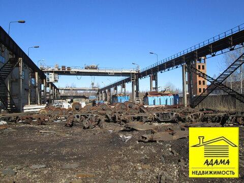 Площадка с твердым покрытием мостовыми кранами 5-10т тупик, весовая - Фото 4