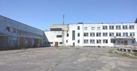 Молокозавод 12 000 м2 в Курской обл. Щигры, ул. Лазарева 1 - Фото 1