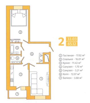 Продажа квартир в новостройке - Фото 4