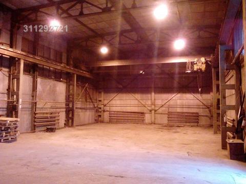 Склад отапливаемый, большие ворота под грузовой транспорт, кран-балка. - Фото 5