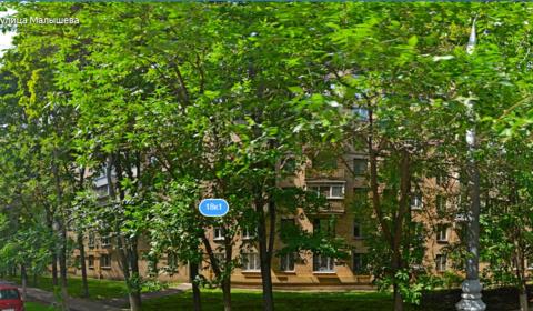 Продается 2-х комн. квартира: г. Москва, ул. Малышева, д.18, корп.1 - Фото 1