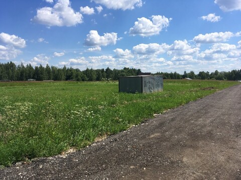 Продам участок 9 соток в свежем поселке трубинолэнд,12км от МКАД - Фото 4