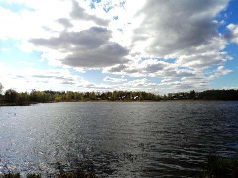 Участок 24 сотки на берегу озера, д. Константиново, 102 км от МКАД. - Фото 2