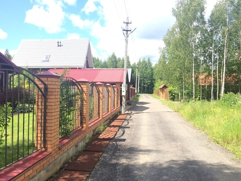 Земельный участок в лесу, 10 соток, Киевское ш, - Фото 4