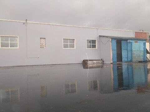 Производственно-складское помещение 949 кв.м, кран балка - Фото 1