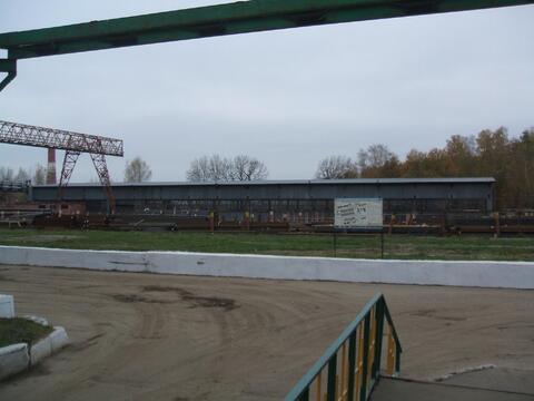 Сдается ! Открытая площадка 5000 кв. м ж/д ветка, Мостовой кран 10 т - Фото 3