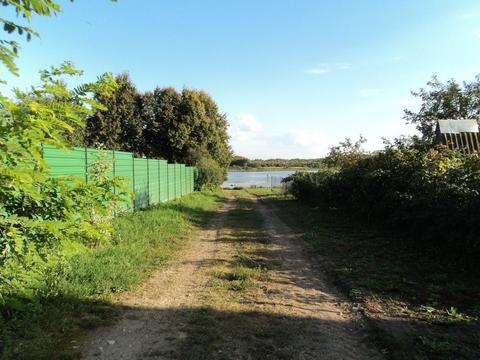 Участок на берегу озера, 15 соток, д. Сивково, 100 км от МКАД, МО. - Фото 5