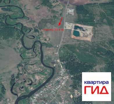 Земельный участок в Сосновском районе, д Костыли - Фото 2