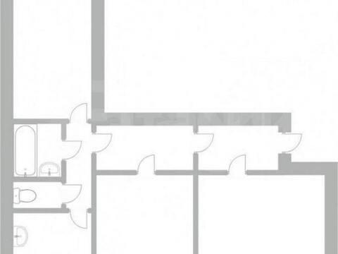 Продажа трехкомнатной квартиры на улице Звездова, 52 в Новокузнецке, Купить квартиру в Новокузнецке по недорогой цене, ID объекта - 319828657 - Фото 1