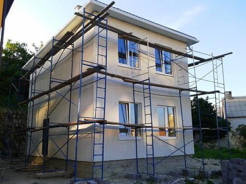 Новый добротный дом 110 кв.м. в Цемдолине Новороссийск - Фото 1