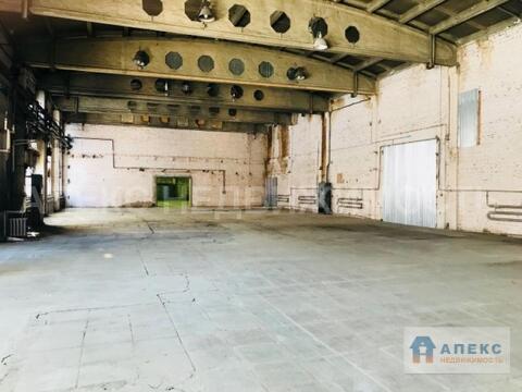Аренда помещения пл. 1068 м2 под склад, м. Каширская в складском . - Фото 1
