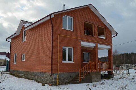 2х этажный кирпичный Дом 200м2 д. Шубинка, газ, 5км до г Малоярославец - Фото 2