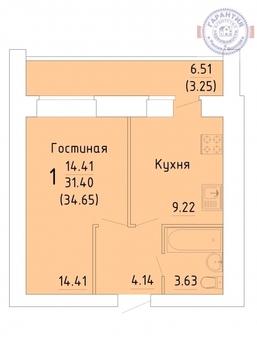 Продажа квартиры, Вологда, Микрорайон Зеленый Город - Фото 1