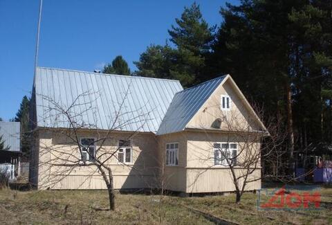 Дом в д. Красный Двор, баня, колодец, гараж - Фото 1