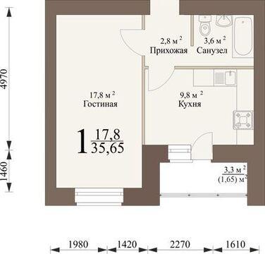 Продажа квартиры, Засечное, Пензенский район - Фото 3