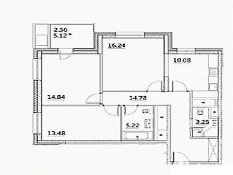 Продажа квартиры, м. Ботанический сад, Лазоревый проезд - Фото 3