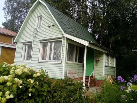 Продам 2-х этажный дом в СНТ «Юбилейный», деревня Пласкинино - Фото 1