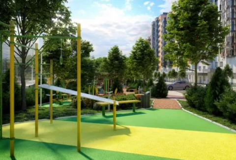 """Три-смарт квартира в ЖК """"Эрмитаж в зеленой роще"""" - Фото 5"""