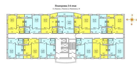 2 890 000 Руб., Квартира в новом доме, Купить квартиру в новостройке от застройщика в Подольске, ID объекта - 315506484 - Фото 1