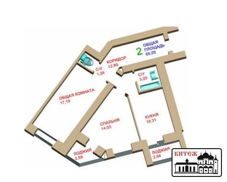Продается двухкомнатная квартира на ул. Советская - Фото 2