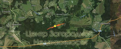 Участок, Симферопольское ш, Каширское ш, 72 км от МКАД, Горки д. . - Фото 2