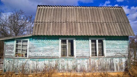 Добротный крепкий дом с гаражом и баней в садоводстве под Псковом - Фото 1