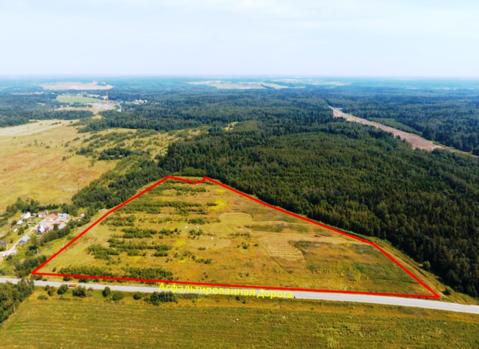 Земельный участок 6 Га в д. Рождествено, 35 км от МКАД - Фото 1