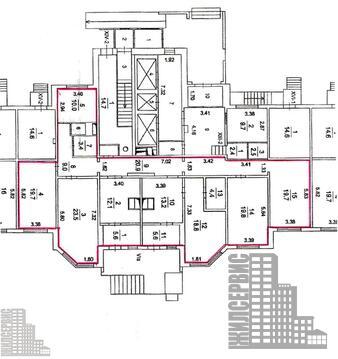 Помещение с отдельным входом, лифт,1 этаж,25-этажный дом, Борисовка - Фото 5