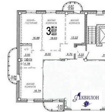 Продаю 3-комнатную квартиру на Комарова,11/1б - Фото 4