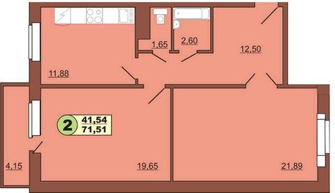 Сдам 2-комн ул.Весенняя д.4, площадью 71 кв.м.