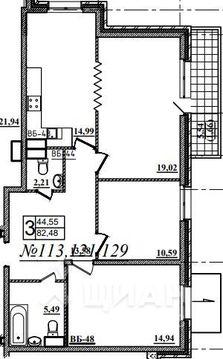 Продаю3комнатнуюквартиру, Назрань, Московская улица, 28, Купить квартиру в Назрани по недорогой цене, ID объекта - 323071412 - Фото 1
