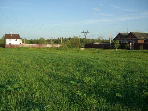 Продается зем.участок 40 сот в красивом селе Рождествено, Рузский р. - Фото 2