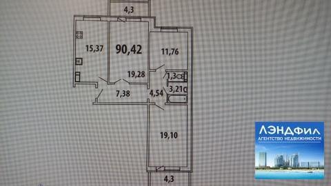 3 комнатная квартира, Левина, 7 - Фото 3