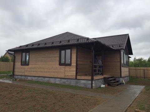 Новый дом под ключ, д. Гришенки Чеховский р-н - Фото 1