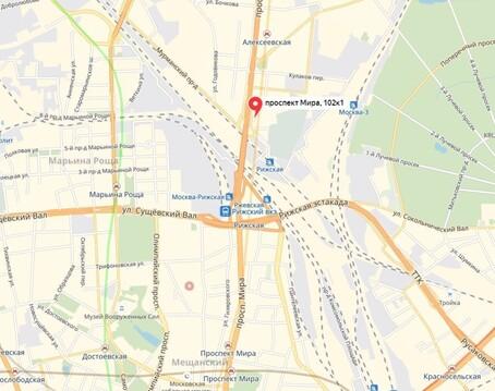 """Ресторан-кафе 260 м2 на первой линии Проспекта Мира 102 БЦ """"Парк Мира"""" - Фото 5"""
