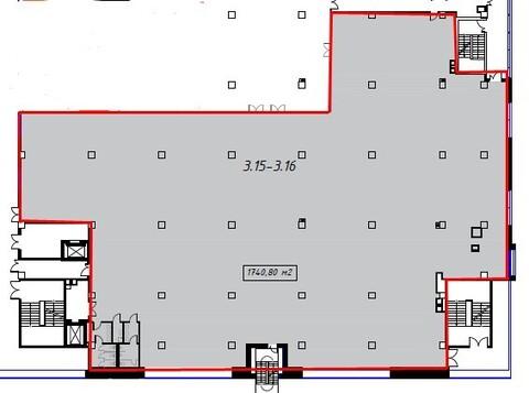 Аренда торгового помещения 1740.8 м2 - Фото 3