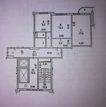Двухкомнатная квартира в Подольске. - Фото 4