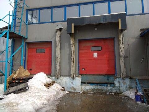 Теплый склад 550 м2 с 2 пандусами и офисом в Машково в 11 км от МКАД - Фото 3