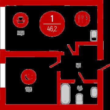 Продажа квартиры, Тюмень, Тихий, Купить квартиру в Тюмени по недорогой цене, ID объекта - 319519342 - Фото 1